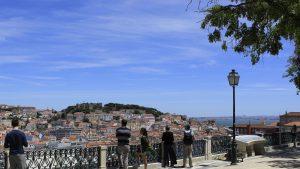 Peisaj din Lisabona.