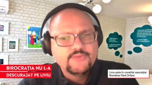 Liviu Mihăileanu și soția au adoptat doi copii. Liviu Mihăileanu vorbește la Aleph News despre adopție.