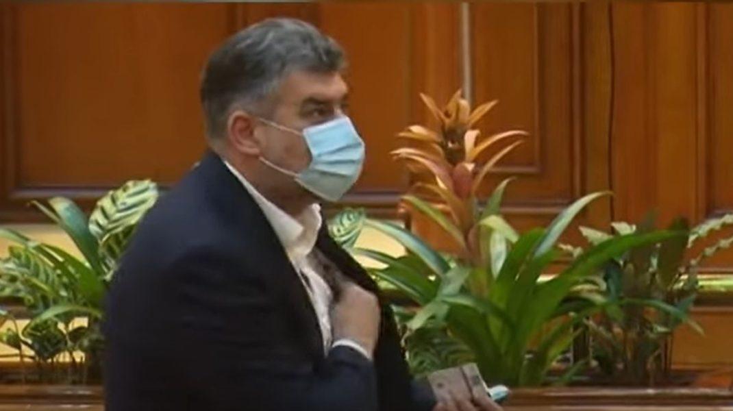 Marcel Ciolacu, din nou cu banii la vedere. Cum a fost surprins șeful PSD. VIDEO