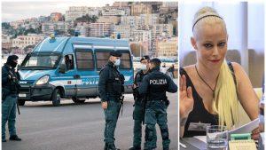 """Una dintre persoanele anchetate de polițiștii italieni a fost votată """"Miss Hitler""""."""