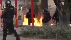 VIDEO. Proteste violente în Columbia, la meciul de fotbal cu Argentina