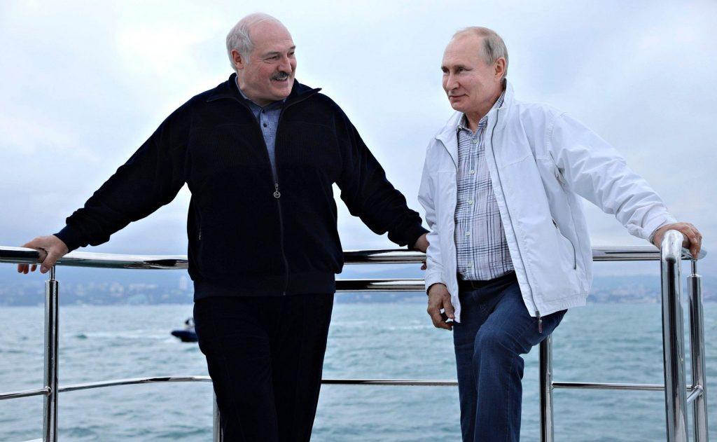 Putin Lukașenko