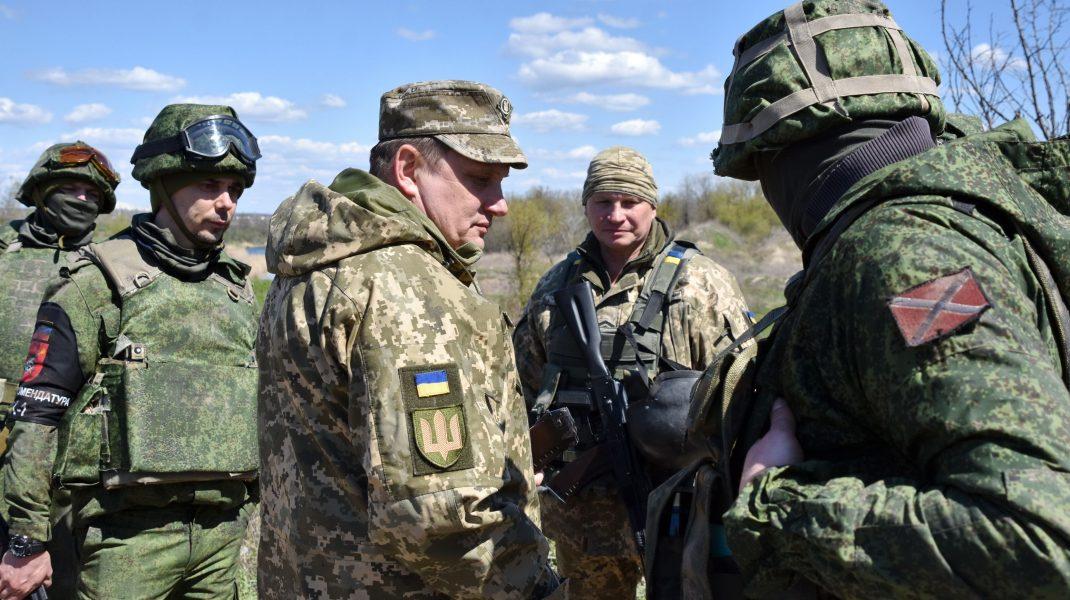 soldați ucraineni