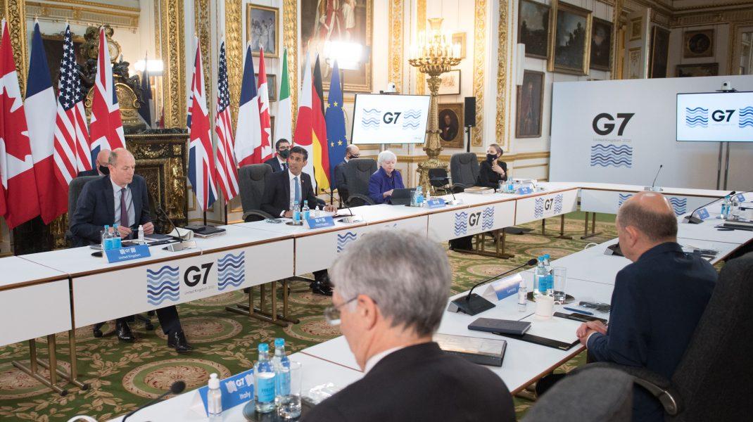 Conferință G7 cu reprezentanții statelor.