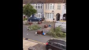 tornadă Londra