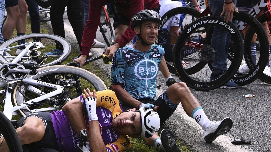 Turul Franței Accident