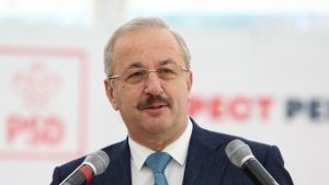 Vasile Dîncu, președintele Consiliului Național al PSD.