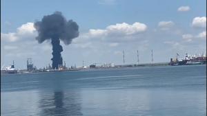 Explozia de la Rafinăria Petromidia.