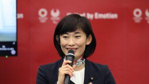 Ministrul japonez al Jocurilor Olimpice de la Tokyo.