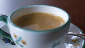Ceașcă cu cafea.