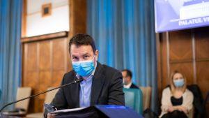 Cătălin Drulă, în ședința de Guvern. Foto: gov.ro