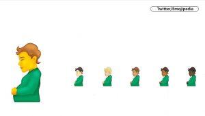 Apar noi emoji-uri: silueta unui bărbat însărcinat e unul dintre ele. Care sunt cele mai folosite emoticoane în România