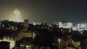 explozie Târgu Mureș