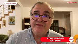 Florin Călinescu la Aleph News.