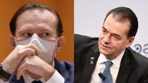 Florin Cîțu și Ludovic Orban într-un colaj.