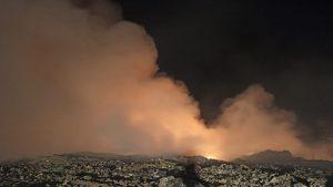 Incendiul de la groapa de gunoi din Arad a fost lichidat.
