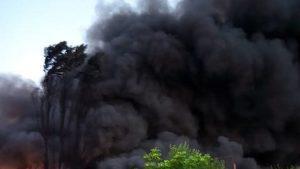 incendiu Salonta