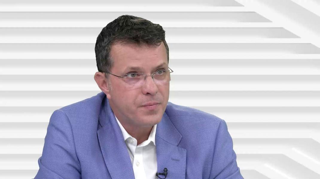 Ionuț Moșteanu în emisiunea OFF/ON THE RECORD de la Aleph News.