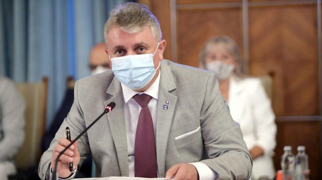 Lucian Bode in sedinta de guvern din 8 iulie 2021.