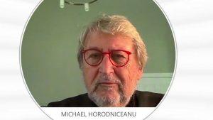 Michael Horodniceanu, în juriul emisiunii ȘTIU de la Aleph News.