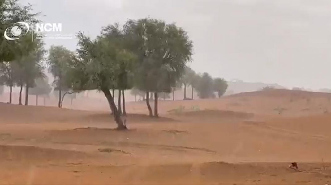 ploaie in emiratele arabe unite