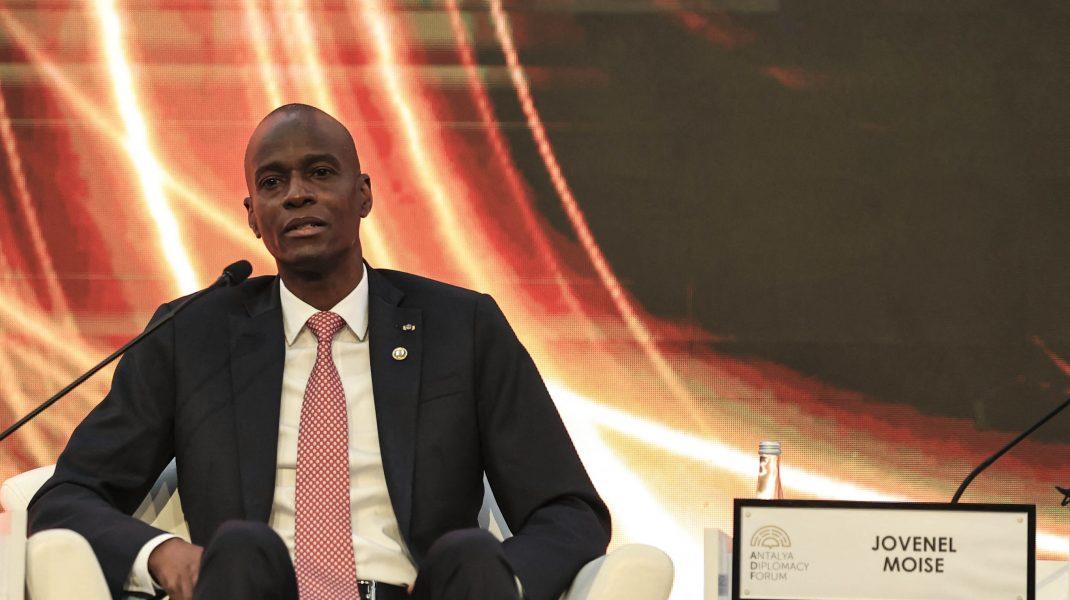 Președintele din Haiti.