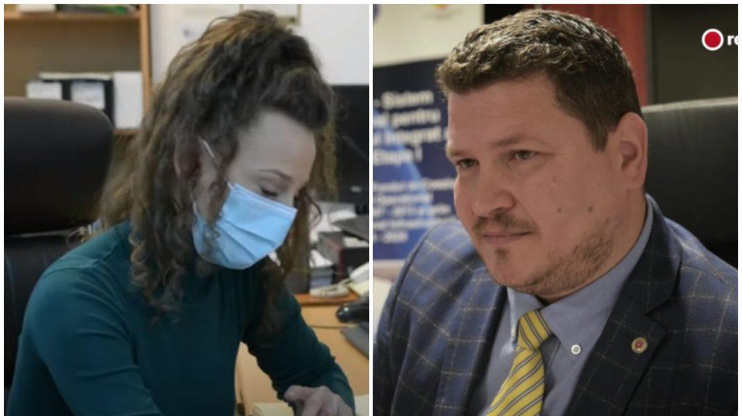 Simona Elena Burlacu și Petru Avram. Foto: Recorder