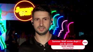 Alex Anghel la Summer Well.