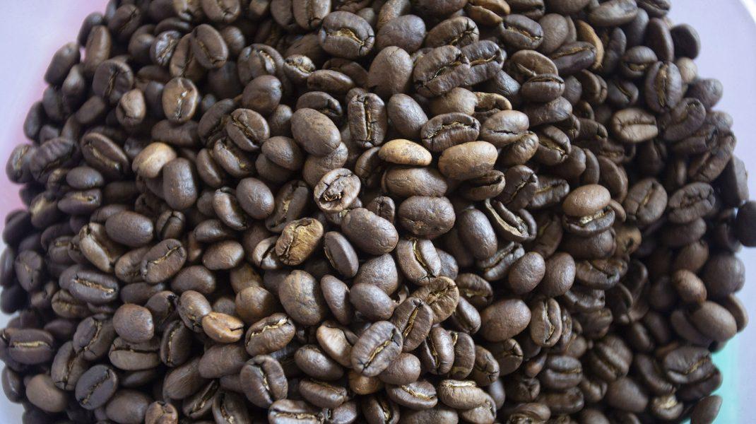 Boabe de cafea.
