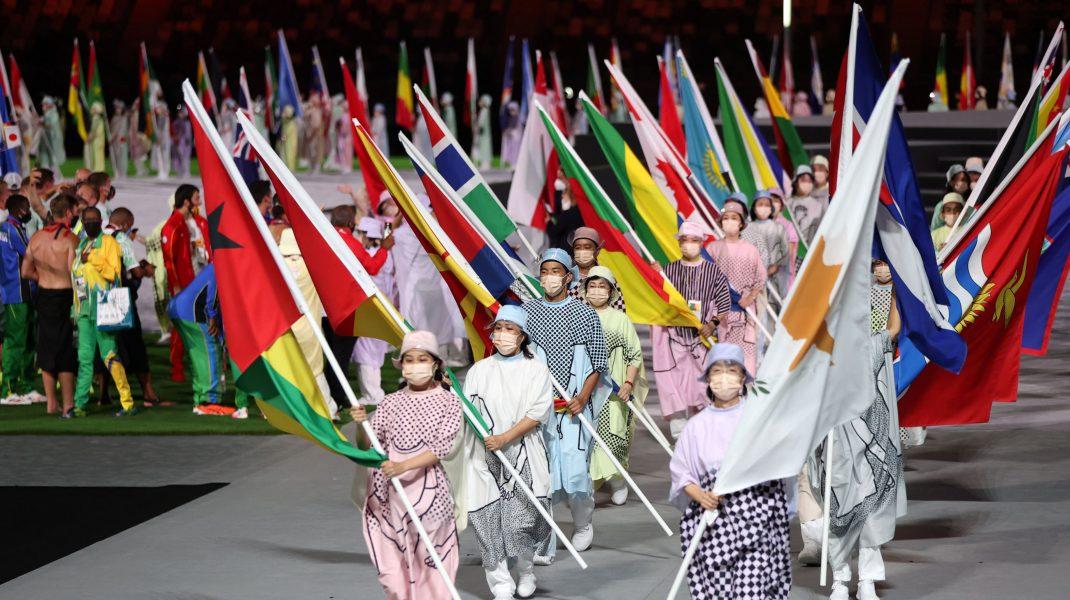 Ceremonia de închidere a Jocurilor Olimpice 2020. Foto: Hepta