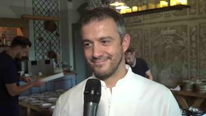 Chef Miguel la Restaurant Poesia.