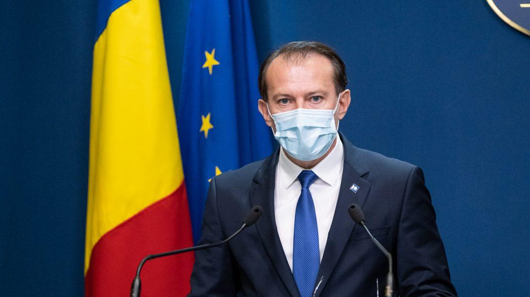 Premierul Florin Cîțu. Foto: gov.ro