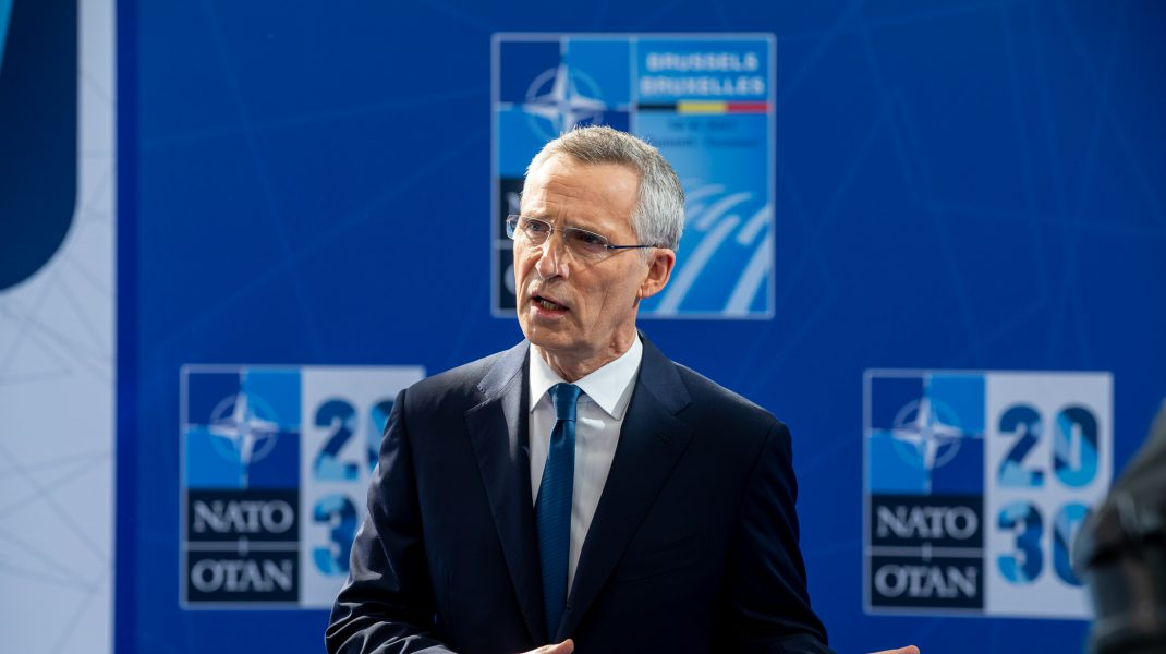 Jens Stoltenberg, secretarul general al NATO.