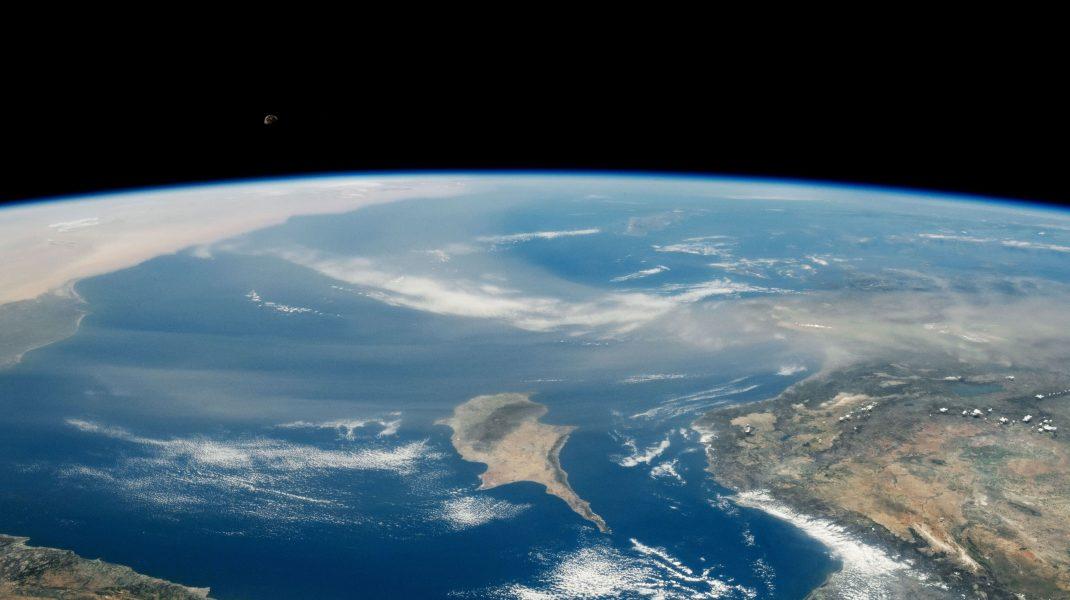Planeta Pământ văzută din spațiu.