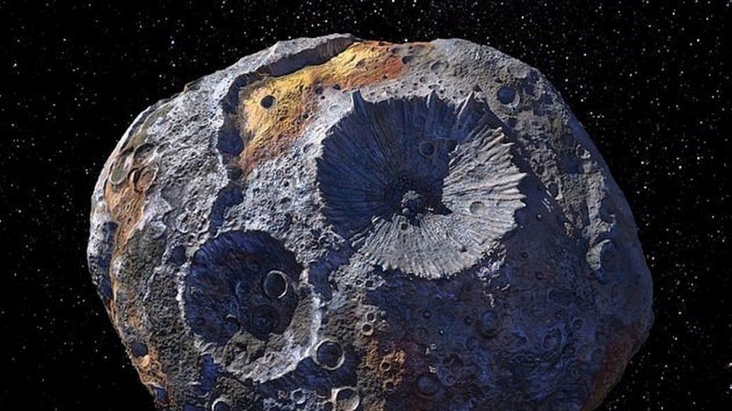 Asteroidul Psyche 16 care ar putea îmbogăți întreaga planetă.