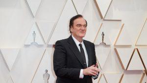 Regizorul Quentin Tarantino la Oscar.