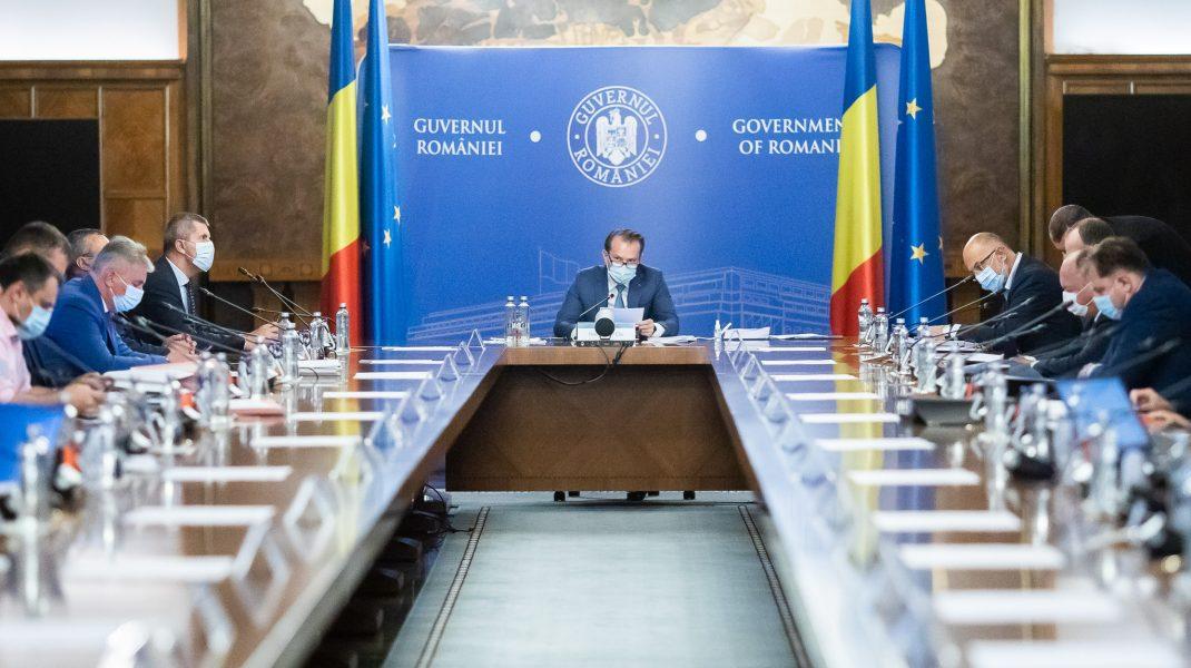 Ședință de Guvern. Foto: gov.ro