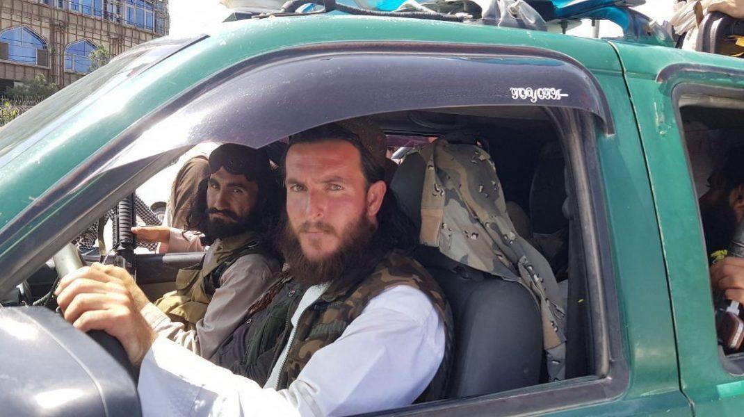 Talibani pe străzile din Kabul, 16 august 2021. Foto: Hepta