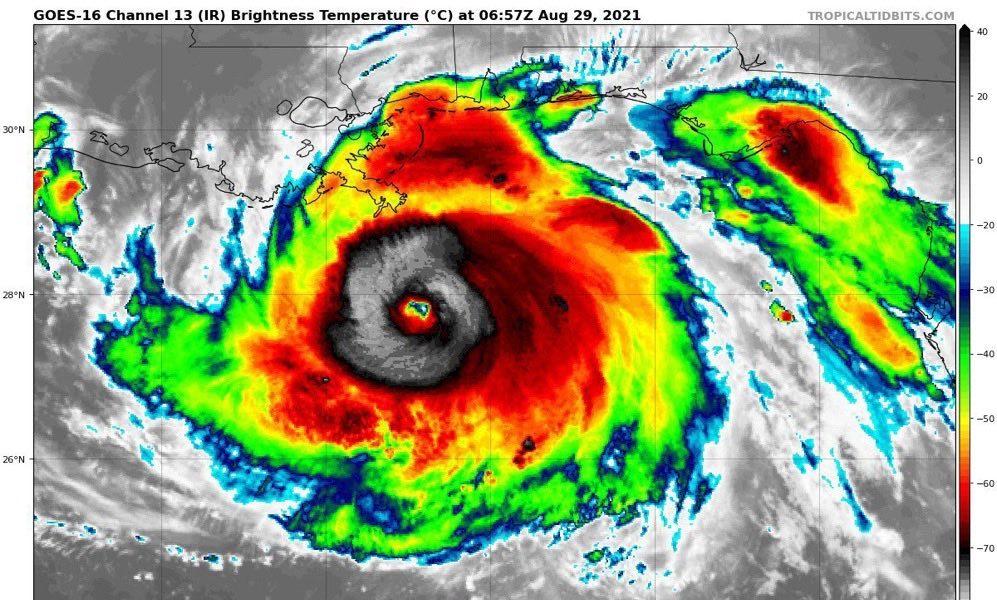 Uraganul Ida.