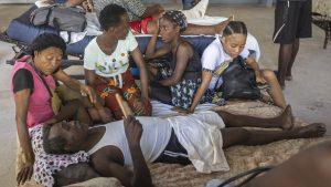 Victime ale cutremurului din Haiti. Foto: Hepta