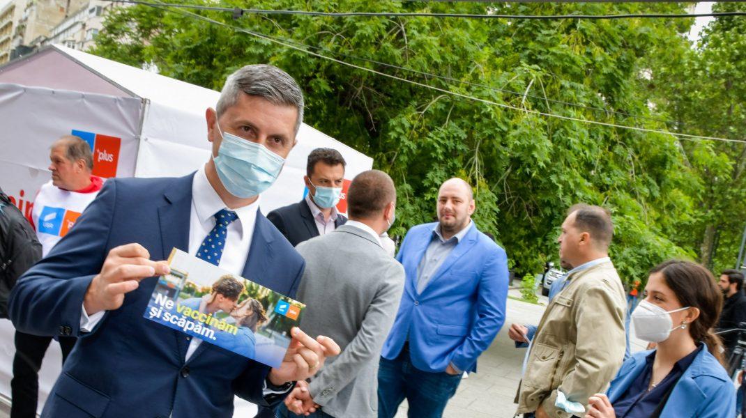 Barna ripostează după ce Florin Cîțu a acuzat că nu a sprijinit campania de vaccinare