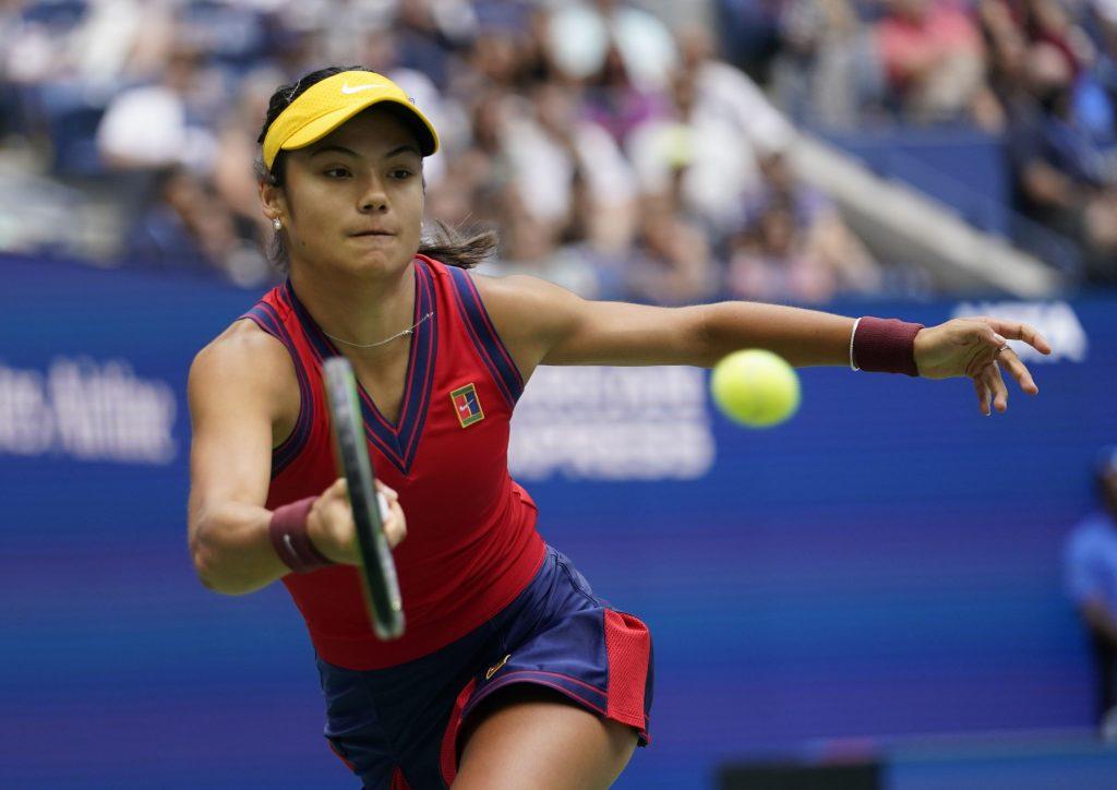 Emma Răducanu la US Open 2021. Foto: Hepta