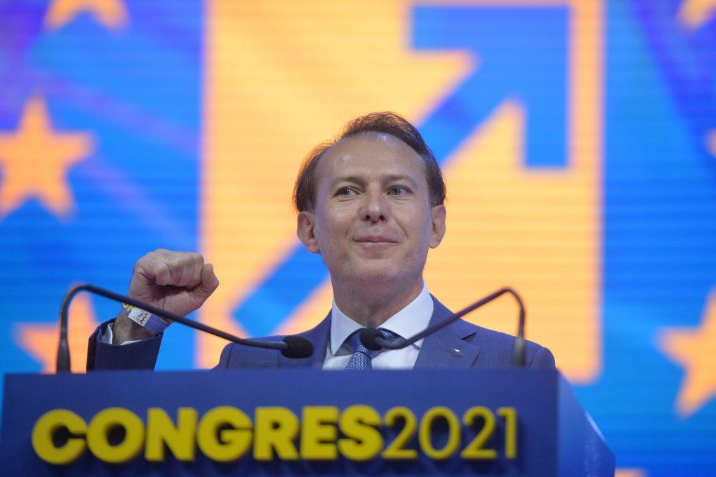 Florin Cîțu la congresul PNL.