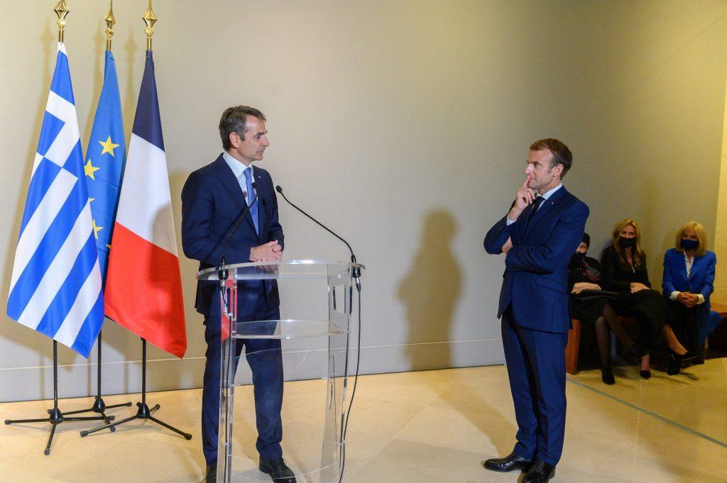 """Franța va vinde fregate Greciei. Macron a semnat cu """"parteneriat strategic"""" în zona Mării Mediterane"""