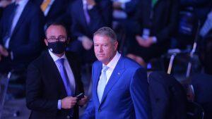 Klaus Iohannis la congresul PNL.