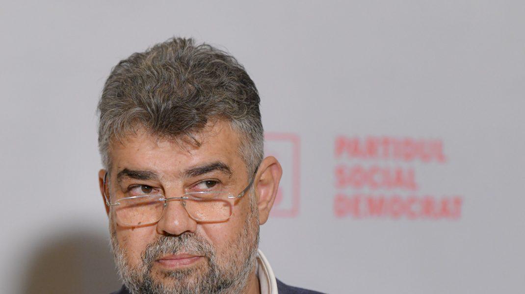 Marcel Ciolacu, liderul PSD.