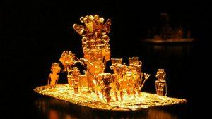 El Dorado-Ofrandă de aur muisca.