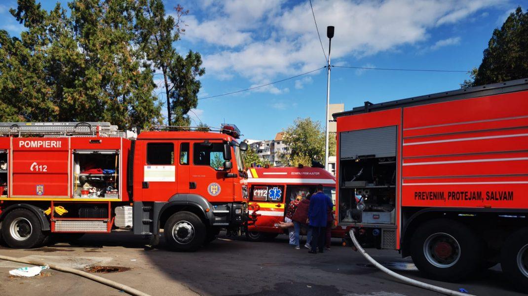Autospeciale de pompieri din Constanța