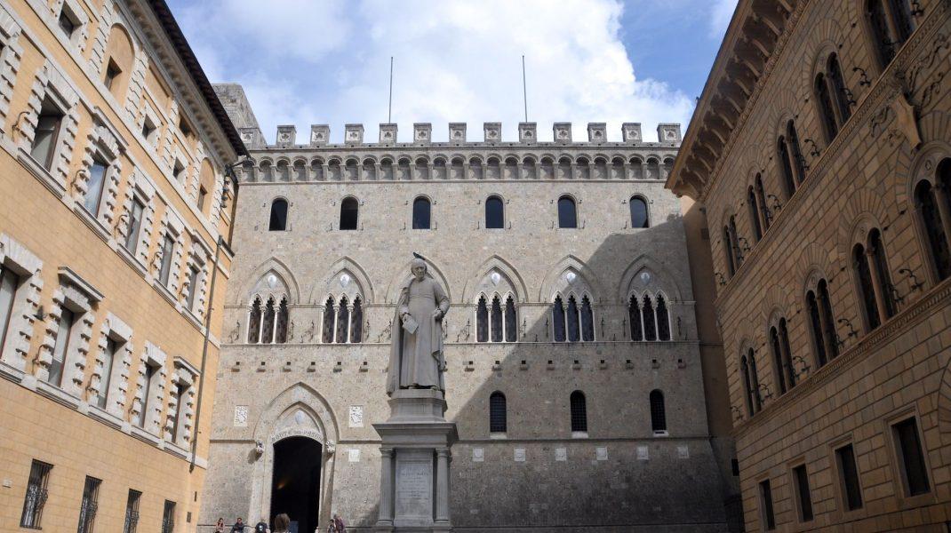 Sediul central al băncii din Siena. Foto: Wikipedia