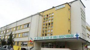 Spitalul de boli infecțioase din Constanța.
